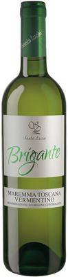Вино белое сухое «Brigante Vermentino Maremma Toscana» 2015 г.