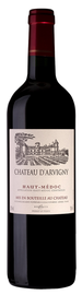 Вино красное сухое «Chateau d'Arvigny» 2014 г.