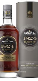 Ром «Angostura 1824 Aged 12 Years» в подарочной упаковке