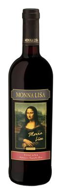Вино красное сухое  «Monna Lisa Rosso»