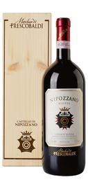 Вино красное сухое «Nipozzano Chianti Rufina Riserva» 2013 г., в деревянной подарочной упаковке