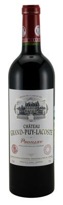 Вино красное сухое «Chateau Grand-Puy-Lacoste» 2012 г.