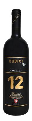 Вино красное сухое «Dodici Monteregio Riserva» 2012 г.