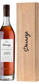 Арманьяк «Bas-Armagnac Darroze Unique Collection Domaine de Martin a Hontanx» 1995 г., в деревянной подарочной упаковке