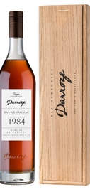 Арманьяк «Bas-Armagnac Darroze Unique Collection Domaine de la Gardenne a Laree» 1984 г., в деревянной подарочной упаковке