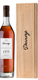 Арманьяк «Bas-Armagnac Darroze Unique Collection Domaine de Tillet a Escalans» 1975 г., в деревянной подарочной упаковке