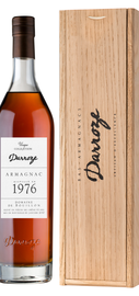 Арманьяк «Bas-Armagnac Darroze Unique Collection Domaine de Jaulin a Bretagne d'Armagnac» 1976 г., в деревянной подарочной упаковке
