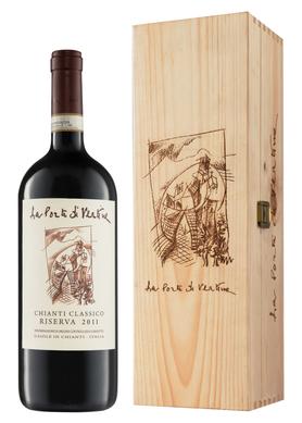 Вино красное сухое «Chianti Classico Riserva» 2007 г., в подарочной упаковке