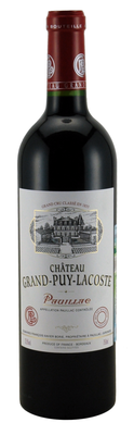 Вино красное сухое «Chateau Grand-Puy-Lacoste» 2009 г.