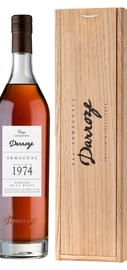 Арманьяк «Bas-Armagnac Darroze Unique Collection Domaine de La Poste a Condom» 1974 г., в деревянной подарочной упаковке