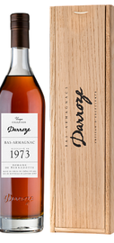 Арманьяк «Bas-Armagnac Darroze Unique Collection Domaine de Bernadotte a Parleboscq» 1973 г., в деревянной подарочной упаковке