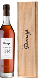 Арманьяк «Bas-Armagnac Darroze Unique Collection Chateau de Gaube a Perquie» 1970 г., в деревянной подарочной упаковке