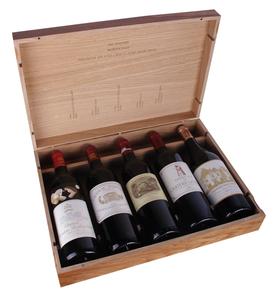 Набор вина красного сухого «100-бальный сет Бордо»
