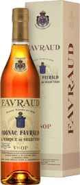 Коньяк французский «Favraud VSOP» в подарочной упаковке