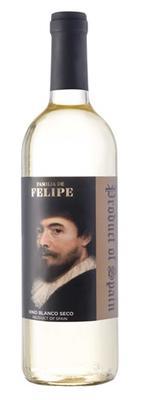 Вино белое сухое «Familia de Felipe Blanco»