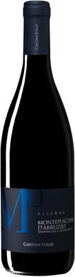 Вино красное сухое «Montepulciano d'Abruzzo Riserva» 2012 г.