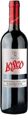 Вино красное сухое «Losco Sangiovese Maremma Toscana» 2015 г.