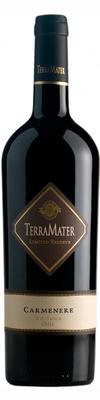Вино красное сухое «TerraMater Limited Reserve Carmenere» 2015 г.