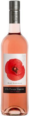 Вино розовое сухое «1/4 d'heure Gascon Rose» 2016 г.