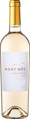 Вино белое полусухое «Pinot Grigio Mont Mes» 2015 г.