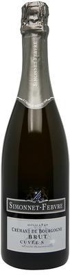 Вино игристое белое брют «Cremant de Bourgogne Brut Сuvee S» 2008 г.