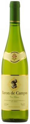 Вино белое полусухое «Baron de Campos»