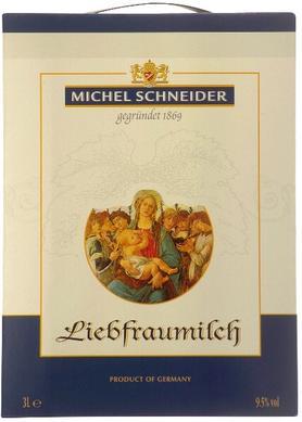 Вино белое полусладкое «Michel Schneider Liebfraumilch Qualitatswein, 3 л» 2013 г.
