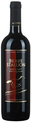 Вино столовое красное сухое «Brave Stallion Cabernet Sauvignon» 2012 г.