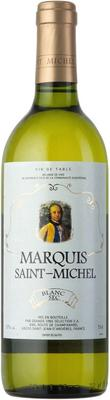 Вино белое сухое «Marquis Saint-Michel»
