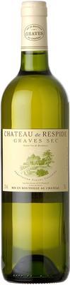 Вино белое сухое «Chateau De Respide Blanc» 2015 г.
