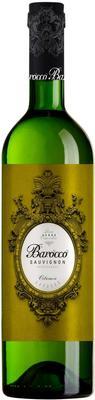 Вино столовое белое полусладкое «Barocco Sauvignon»