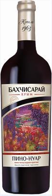 Вино столовое красное полусладкое «Бахчисарай Пино Нуар, 0.75 л»