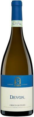 Вино белое сухое «Greco di Tufo Devon» 2015 г.