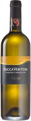 Вино белое сухое «Trebbiano d'Abruzzo Rocca Ventosa» 2015 г.