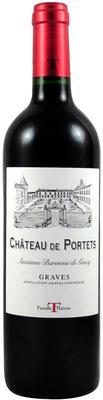Вино красное сухое «Chateau de Portets» 2014 г.