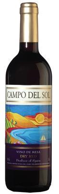 Вино столовое красное сухое «Campo del Sol»