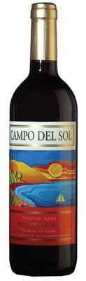 Вино столовое красное полусладкое «Campo del Sol»