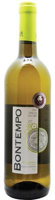 Вино столовое белое сухое «BONTEMPO»