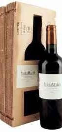 Вино красное сухое «TerraMater Unusual Cabernet Zinfandel Shiraz» 2012 г., в подарочной упаковке