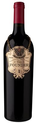 Вино красное сухое «Founder» 2014 г.