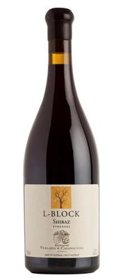 Вино красное сухое «L Block» 2011 г.