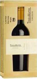 Вино красное сухое «TerraMater Unusual Mighty Zinfandel» 2010 г., в подарочной упаковке