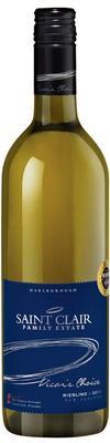 Вино белое полусухое «Vicar's Choice Riesling» 2015 г.
