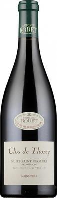 Вино красное сухое «Nuits-Saint-Georges Premier Cru Clos de Thorey» 2011 г.