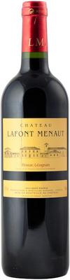 Вино красное сухое «Chateau Lafont Menaut Rouge» 2014 г.