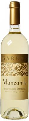 Вино белое сухое «Vermentino di Sardegna Manzanile» 2016 г.