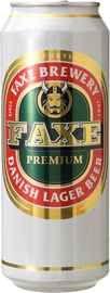 Пиво «Faxe Premium» в жестяной банке