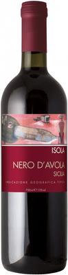 Вино красное сухое «Isola Nero d'Avola Sicilia» 2016 г.