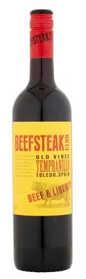 Вино красное сухое «Beefsteak Club Tempranillo» 2015 г.