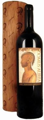 Вино красное сухое «Domus Aurea Cabernet Sauvignon» 2012 г., в тубе